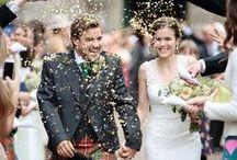 Destination wedding in Scotland / Ballathie House Hotel wedding photos by Scotland photographer Dasha Caffrey