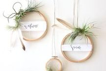 | m e | CRAFTS | wreaths | / I love simplicity, so these wreaths fit the bill perfectly.
