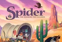 Spider Magazine Covers