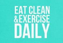 workout & eat healthy / by Jennifer Zeller
