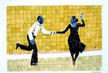 Lindy Hop and other dances illustrated / by Anaïs SEKINE