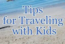 Traveling With Children / tips for when to travel, book trips, traveling with kids #travel #kids #airplanes #cars
