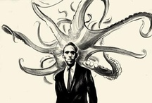 For the love of Lovecraft / All things H.P. Lovecraft & Cthulhu Mythos related. / by Alexandra Bjargardóttir