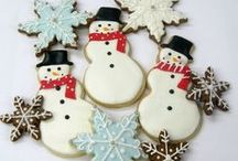 Cookies - Decorated / Royal Icing and other decorations ..... / by Liz Loach
