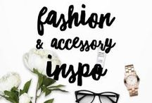 Fashion & Accessory Inspiration / I love looking for outfit inspiration and different ways to dress up the simplest of outfits. I save them all here to look when I need some ideas.