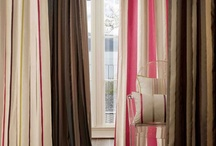 Boutique / A stylish collection of wide width taffeta stripes and plains. Bold, dramatic stripe patterns have been created using intricate techniques, such as ikat, satin, ottoman and chevron structures. There is a choice of six colours in each pattern, ranging from smart neutrals through to vibrant shades of Purple, Fuchsia and Spice.