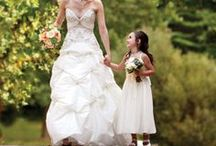 Bride & her girls / Brides, bridesmaids, mother-of-the-bride, flower girls, and more..