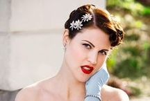 Bridal Accessories  / Wedding headpieces, belts, & veils all of the beautiful finishing details