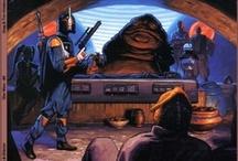 Star Wars Artist: Greg & Tim Hildebrandt / Art by the legendary art siblings: Greg & Tim Hildebrandt / by Erika Blake