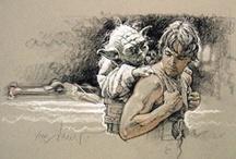 Star Wars Artist: Drew Struzan / by Erika Blake