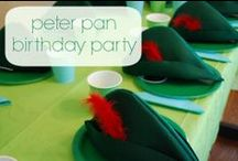 Peter Pan Birthday Party / Peter Pan Birthday Party ideas, decorations, recipes and games #peterpan #tinkerbell #birthday #party