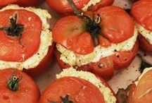 Summer Tomato Recipes / These incredible recipes highlight juicy summer #tomatoes and include superstar chef Mario Batali's brilliant solution for redeeming out-of-season tomatoes. / by Food & Wine