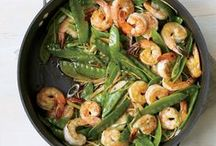 Best Stir-Fry Recipes / These quick and delicious stir-fry recipes include a Vietnamese vegetarian stir-fry, juicy stir-fried sirloin, gingery shrimp and snap peas and more. / by Food & Wine