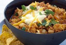 Chili Recipes / From classic beef chili to a quick three-bean chili, here are fantastic chili recipes.