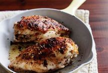 Quick Chicken Recipes / These fast recipes include easy chicken fajitas and juicy roast chicken with butternut squash. / by Food & Wine