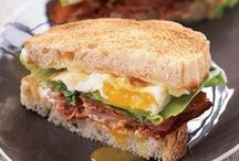 Superbowl Sandwich Recipes / These delicious recipes include a perfect eggplant parm sub and cheesy Cuban sandwiches. / by Food & Wine