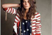 Red, White & Blue Patriotic Outfits