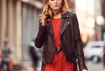 Olivia Palermo / Olivia Palermo's feminine, accessorized, pulled together high fashion style often with mixed prints