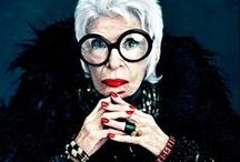 Iris Apfel / Owner of such a large costume jewelry collection, it was featured in museums around the US.