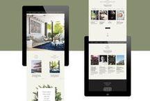 DESIGN - WEB / Web design we love.