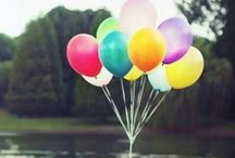 ღ Flying Away With Ballons / Hold tight to your ballon - hold tight to life...