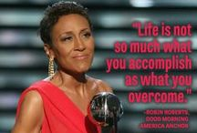 RobinRoberts / Good Morning America anchor Robin Roberts is featured in the August 2012 edition of Guideposts magazine / by Guideposts