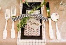 Perfect Placecards, Table Numbers, Menus & Settings