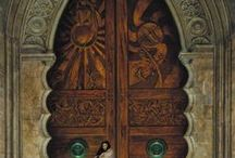 Cathedrals, Churches and Magnificent Doorways / Photos of doors from some amazing cathedrals, churches, homes and companies some I've seen while traveling and others I aspire to see someday.  / by Gwen Cash
