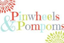 Pinwheels & Pompoms / Some posts from my blog, things I sell in my Etsy store, and some random cute pinwheels and pompoms! . http//:pinwheelsandpompoms.com