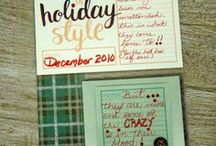 Project Life/Stampin' Up! & Simple Stories