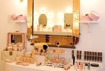 Glam Bedroom/Vanity / Styling New Apartment, Bedroom Decor ideas / by GlamazonGirls Glow