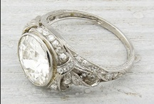 "Frosting / Diamonds, Jewels, Vintage, pretty much anything that sparkles or could be considered ""bling"""