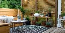 Gardening, Yard, and Patio Decor / Inspiration and ideas on what to do with the back and front yard. Plus gardening tips and tricks.