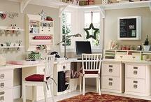Craft and Study Room Ideas