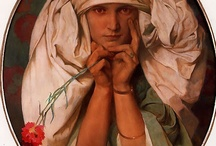 Alphonse Mucha / by Robert W Kroeker