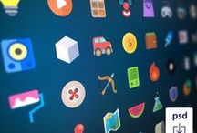 Web icons / Web icons that can be used stand alone or in projects. Great way to get a uniqe look / by Dejan Mauzer