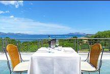 Ristorante Sabores / Il ristorante Sabores è un raffinato mix tra le specialità marinare e i sapori della terra, condensati in un menù raffinato, che si sposa felicemente con le migliori etichette di vini della Sardegna di cui la cantina dispone. http://goo.gl/1tEHP
