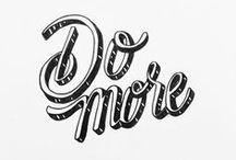 Tasty Typography / Typography treasures.