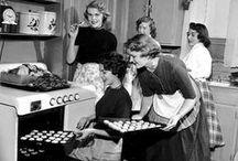 vintage food and cooking