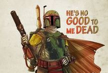 Star Wars - Boba Fett / Boba Fett is the man. Or the bounty hunter, depending on how you see it. He is still the coolest character in the Star Wars universe.