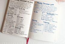 Journaling, Planning