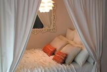 bedrooms / by Valerie Cimarossa