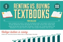 Infographics / by Tiki & Adrienne @ BookRenter