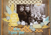 Scrapbook Pages (1 photo) / Page ideas utilizing one photograph.