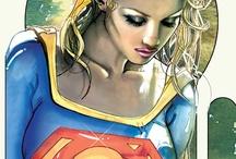 Comics - Super Heroines / by Isidro Ramón