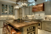 Kitchens galore  / Kitchens - the heart of the home. Where family and friends gather at the end of the day to share their lives, with great meals. / by DesignHouse - Debra Taylor Purvis