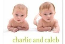Twin Birth Announcement Ideas