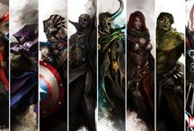 (Super)Heroes, Villains & Their Universe / We can be Heroes, for ever and ever.. / by Fathia Anindita