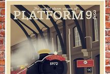Platform 9¾ / For believing in magic & courage to love. / by Fathia Anindita