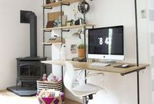 Home Office & Work Space / by Morgan Gates